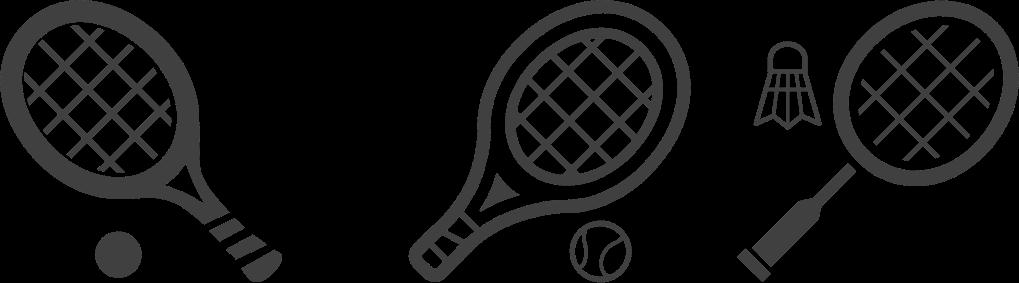 テニス・ソフトテニス・バドミントンのアウトレット